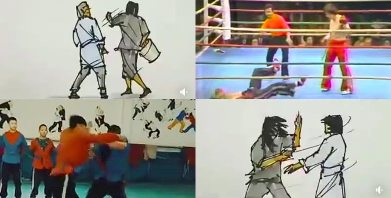 動画から学べる柔術