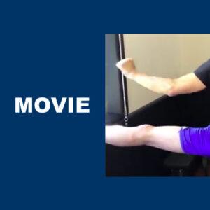 脚が奥から動くと全身の動きが変わる